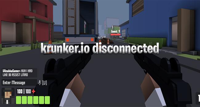 krunker.io disconnected